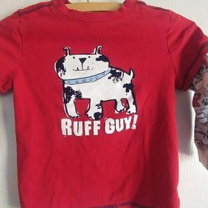 Boys Ruff Guy Long Sleeve Tshirt